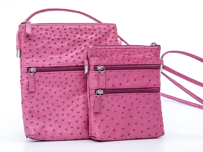 Ostrich Leather Hand Bags