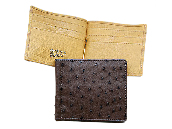 Ostrich Leather Wallets